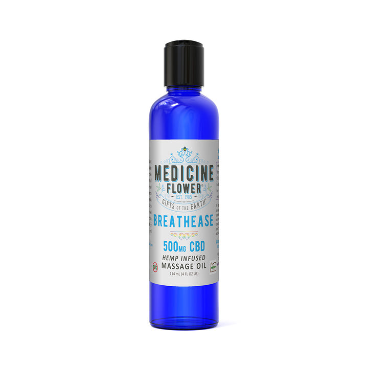 CBD Breathe Easy Massage Oil