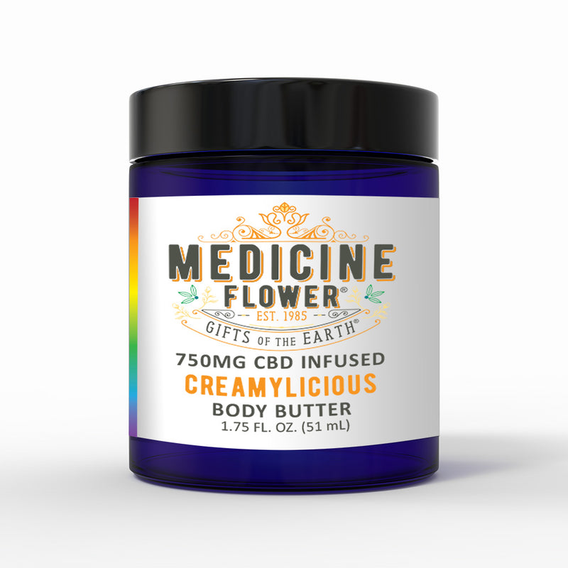 CBD Creamylicious Topical Body Butter