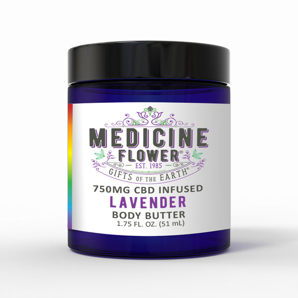 CBD Lavender Topical Body Butter