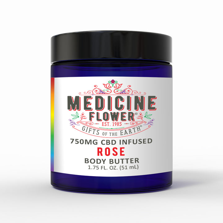 CBD Rose Topical Body Butter