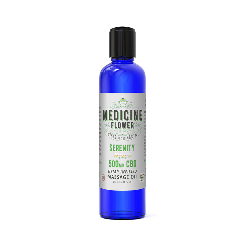CBD Serenity Massage Oil