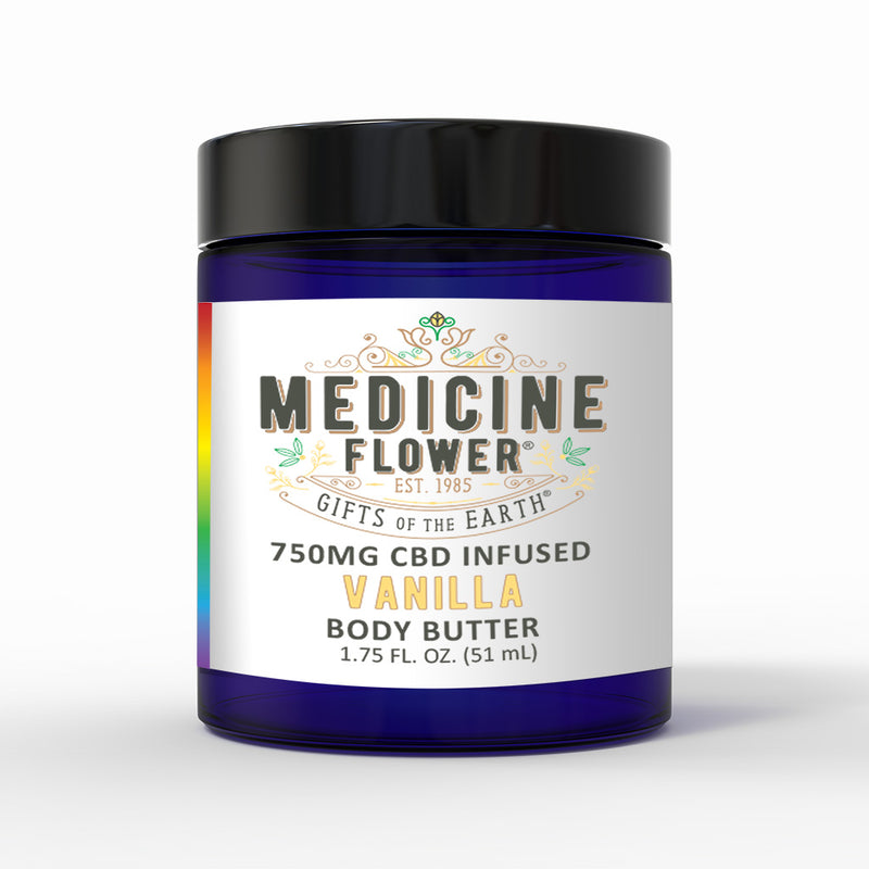 CBD Vanilla Infused Body Butter