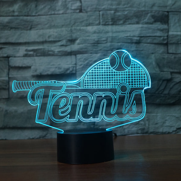 Tennis Lamp - Multicolor LED