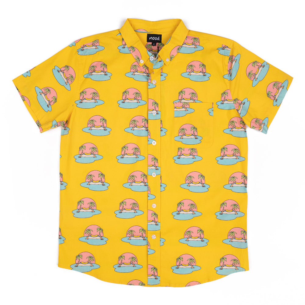 BANANA HAMMOCK (YELLOW) FULL BUTTON DOWN W/ FLEX