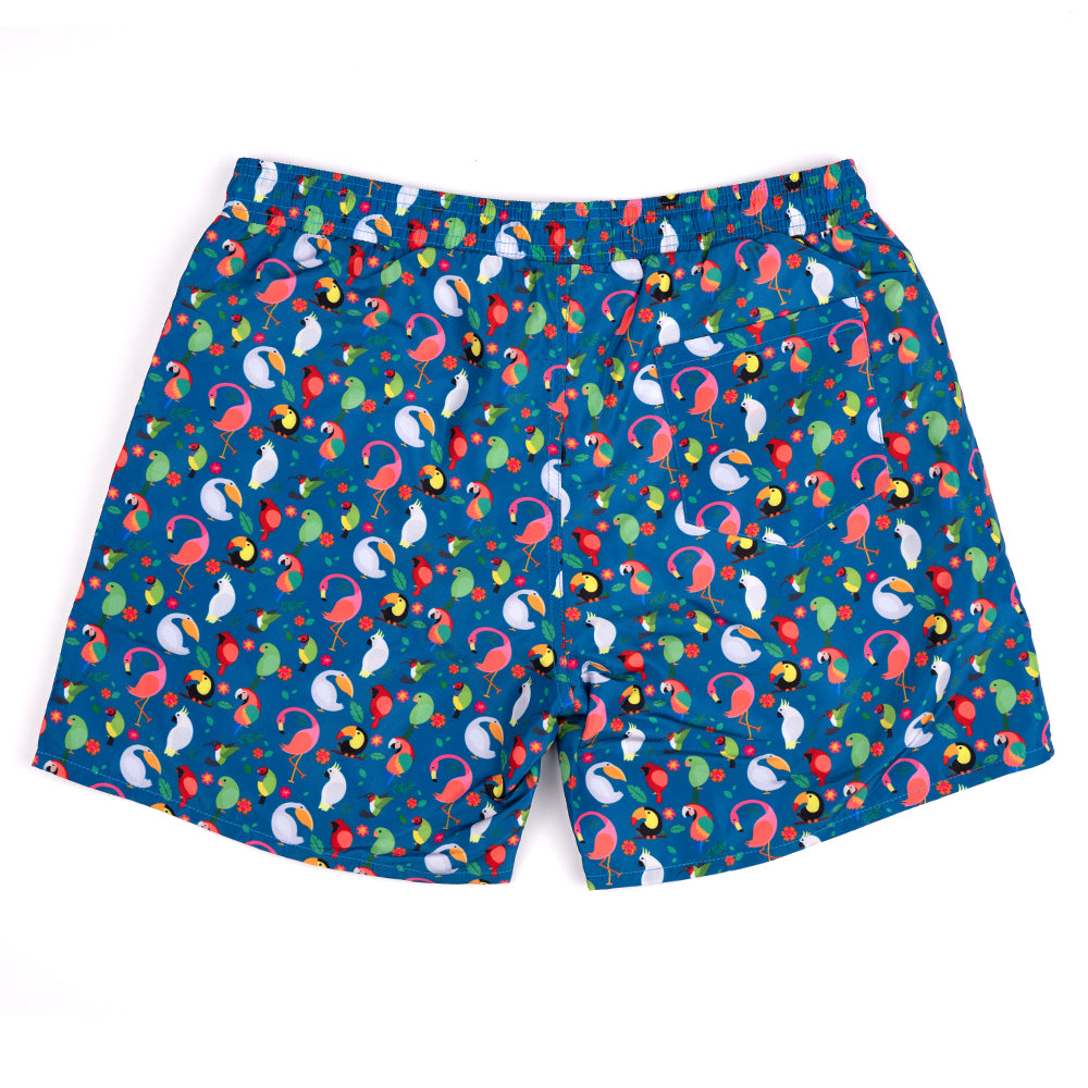 TOUCAN PLAY THAT GAME - SWIM TRUNKS