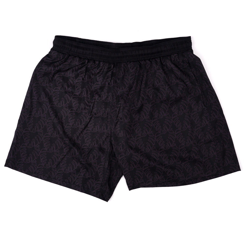 NIGHT NOODS (BLACK) SWIM TRUNKS