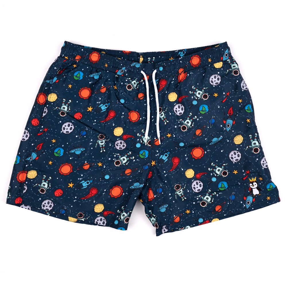 SPACIN' OUT SWIM TRUNKS