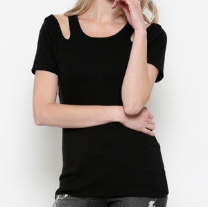 Tacca Cold Shoulder Top - SOИDER BOUTIQUE