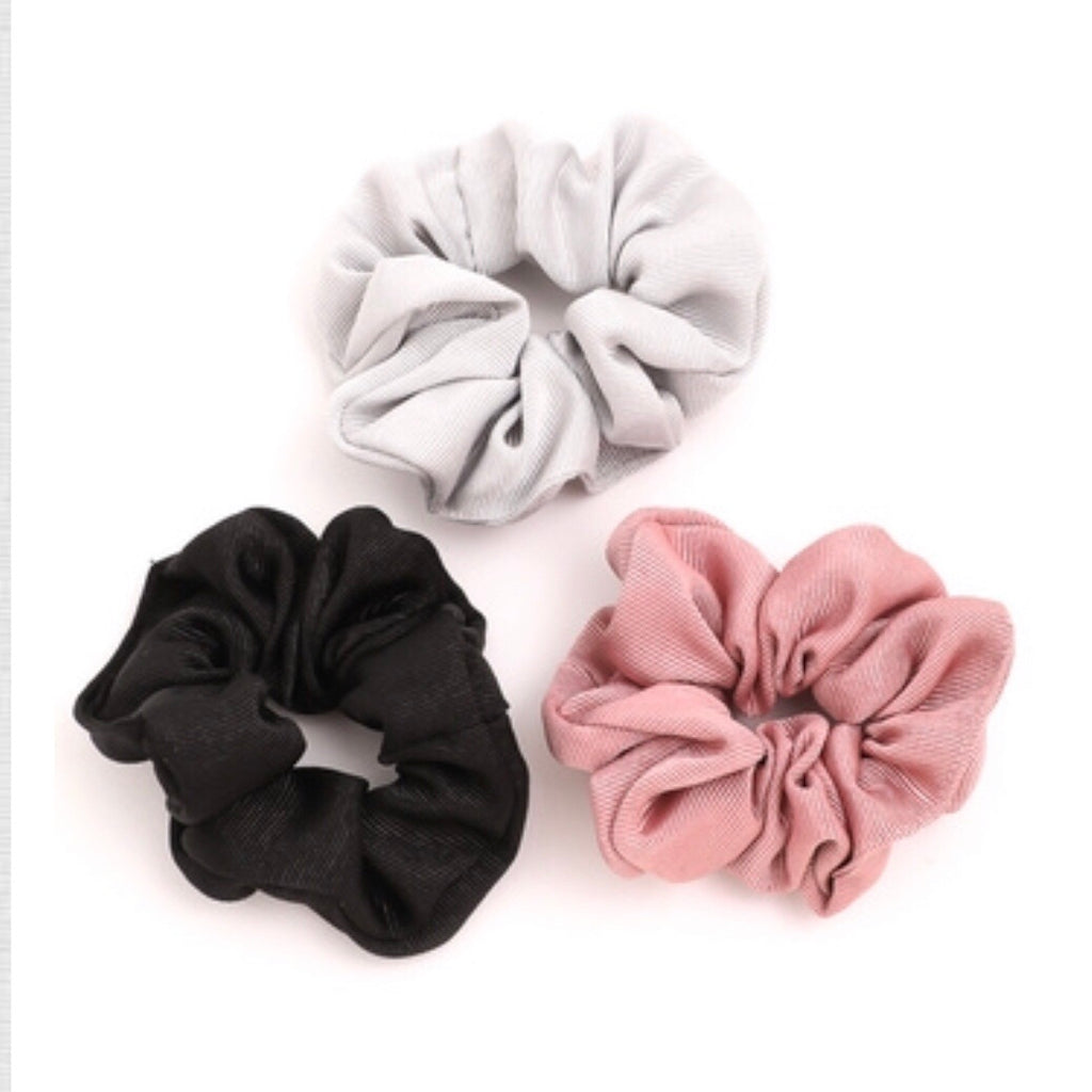 Lotus Scrunchies (3-Pack) - SOИDER BOUTIQUE