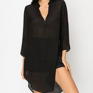 Viola Cover-Up Tunic - SOИDER BOUTIQUE