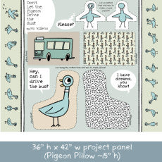 LICENSED COTTON - Don't Let the Pigeon Drive the Bus BUNDLE - Cloud 9 Organic Fabrics - Quilting weight Fabric