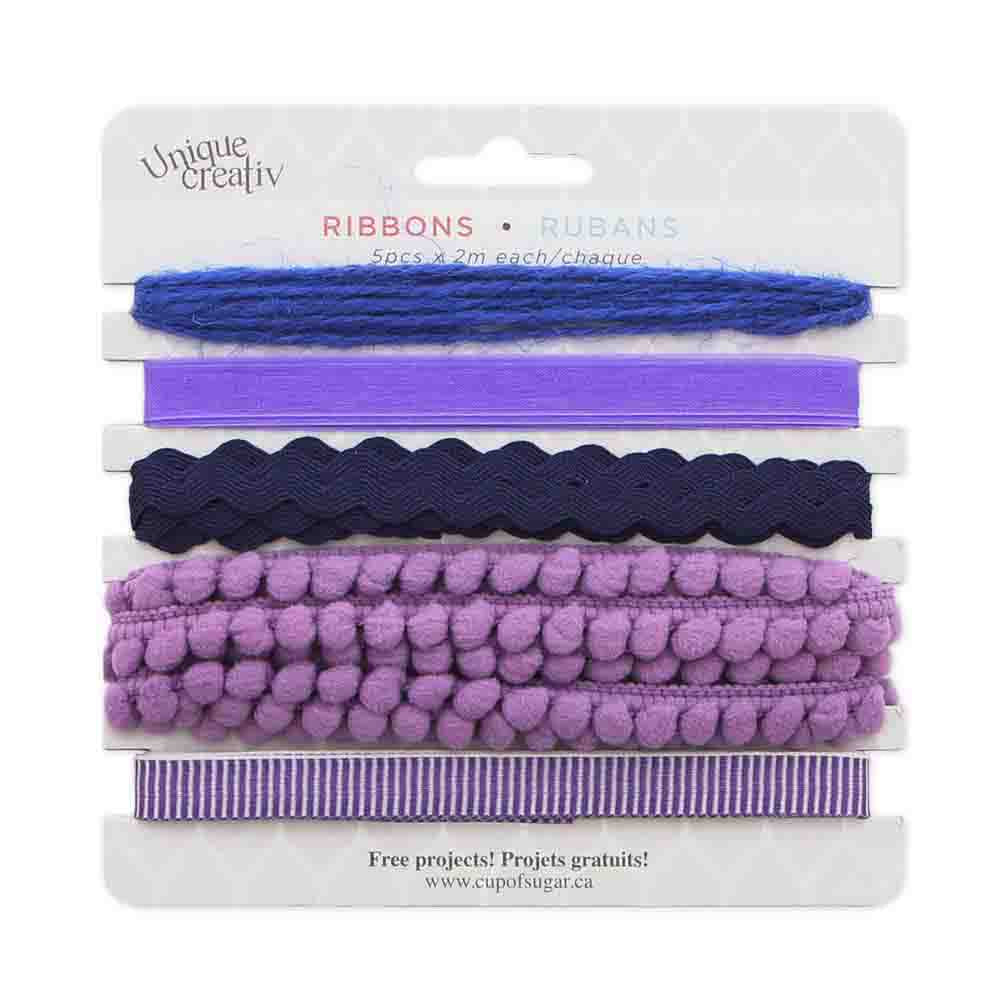 Assorted Trim Pack - PURPLE