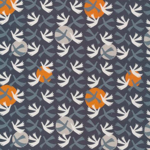 ORGANIC COTTON - Cloud 9 fabrics - Rise Up - Lisbon Square (1/2 yard)