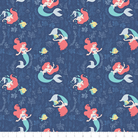 Little Mermaid fabric