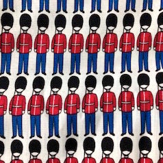 COTTON - British Invasion - Soldiers - Riley Blake (1/2 yard)
