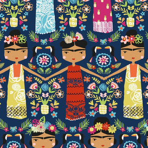 Frida Kahlo fabric