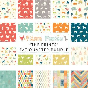 Farm Fresh Birch Fabric Fat quarter bundle