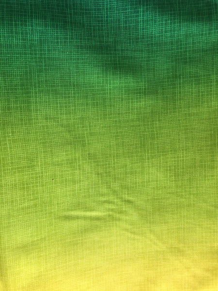 COTTON - Northcott - Dream Weaver Ombre Green Thumb (1/2 yard)