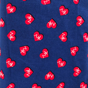 COTTON - Front Lines EKG (1/2 yard)