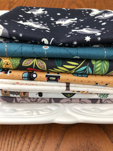 Fat Quarter Bundle -  Lewis and Irene randoms - 7 pieces
