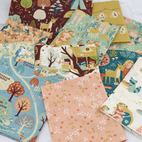 fat quarter bundle Birch Fabric Best of Teagan White