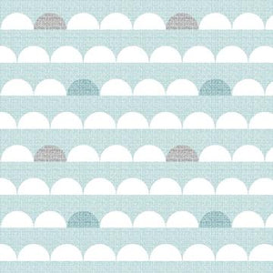 COTTON - Dashwood Studios - Nesting Birds/clouds (1/2 yard)