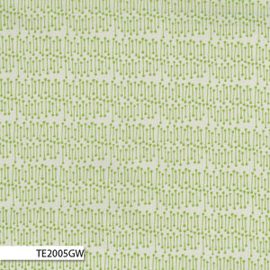COTTON - Ella Blue - Bush Sticks Alpine Green - Terra Australis (1/2 yard)