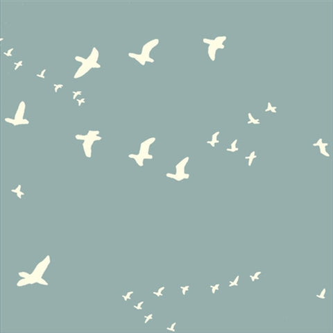 Organic Canvas COTTON - CANVAS - Bear Flight Mineral - Birch Organic cotton (1/2 yard)
