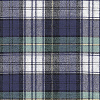 "COTTON - 58"" Brushed Plaid Dress Campbell - (1/2 yard)"