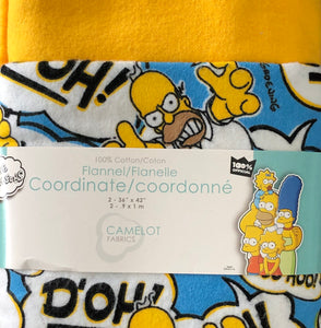 The Simpsons Flannel - Coordinates