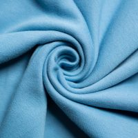 "SOLID KNIT - Periwinkle 58"" Wide - Birch Organic cotton knit fabric - (1/2 yard)"