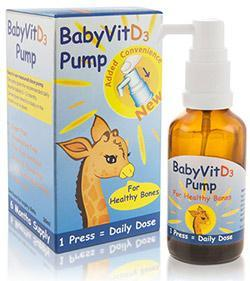 Baby Vit D3 Pure Vitamin D Pump Drops 28ml