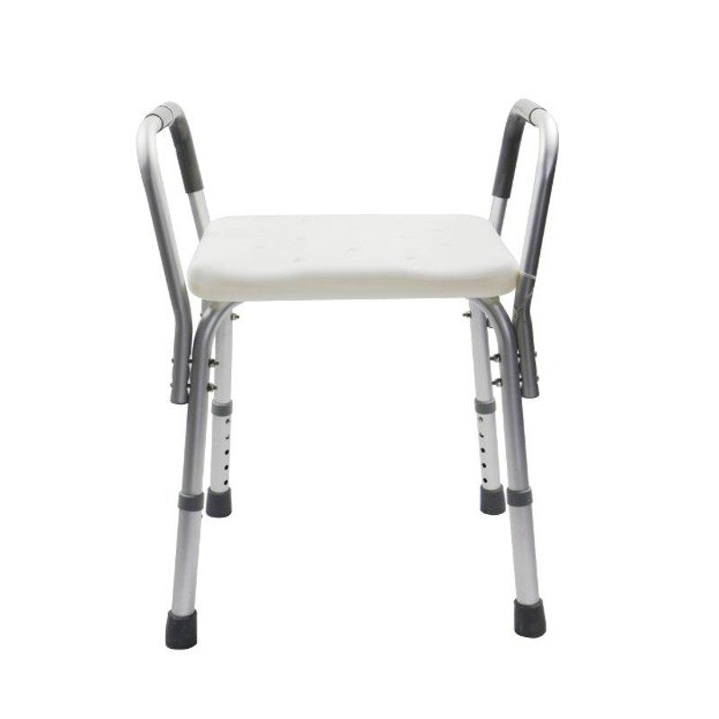 Aluminium Shower Chair with Removable Armrests