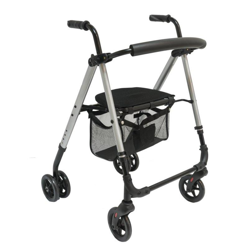 Access Push Down Aluminium Rollator
