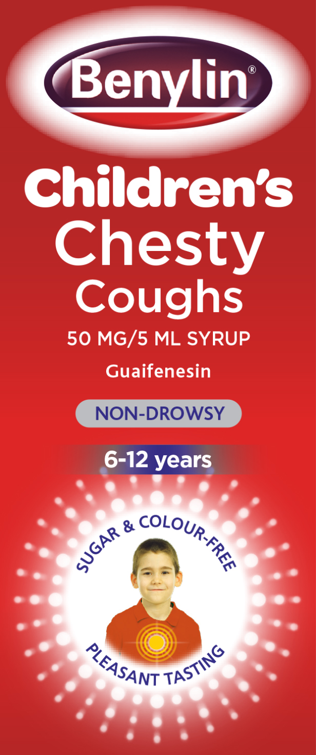 Benylin Children's Chesty Cough Non-Drowsy 125ml
