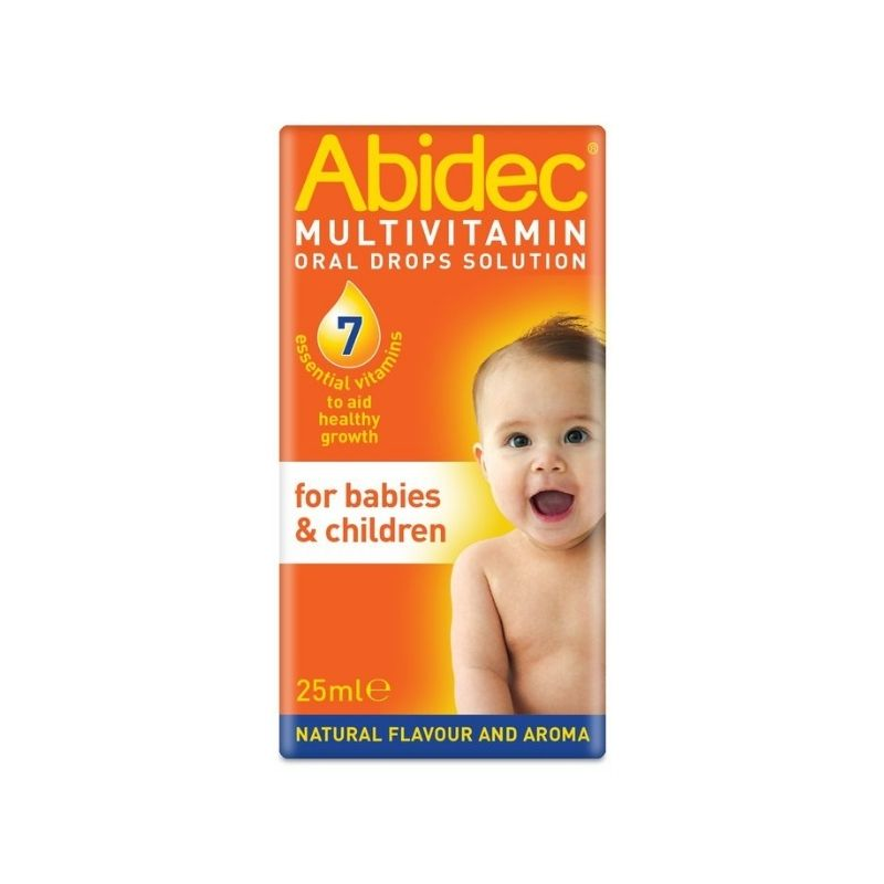 Abidec Multivitamin Oral Drops 25ml