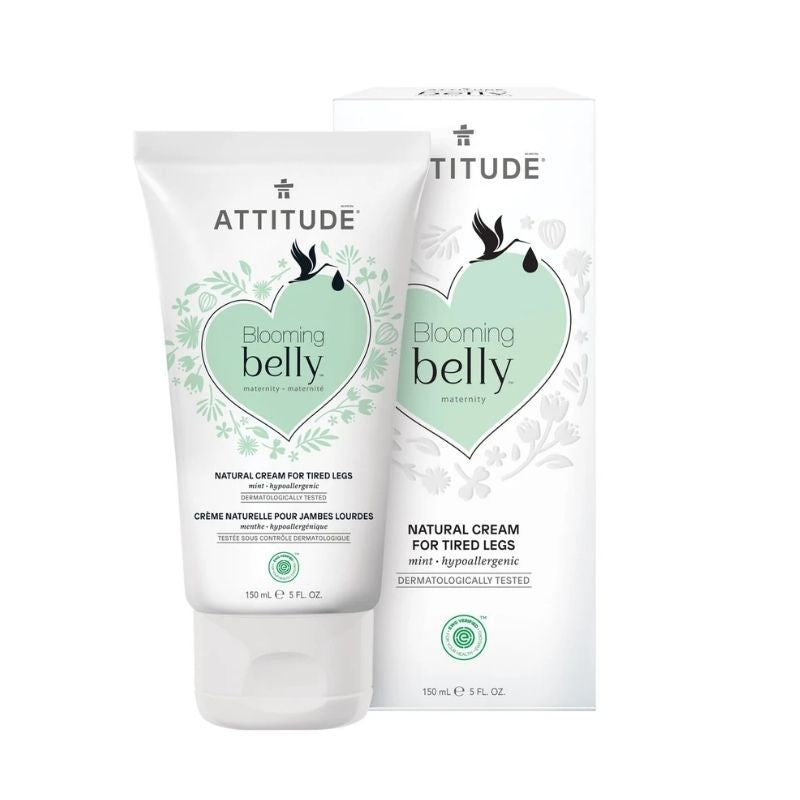 Attitude Blooming Belly Natural Cream for Tired Legs