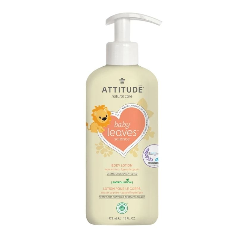 Attitude Natural Baby Body Lotion