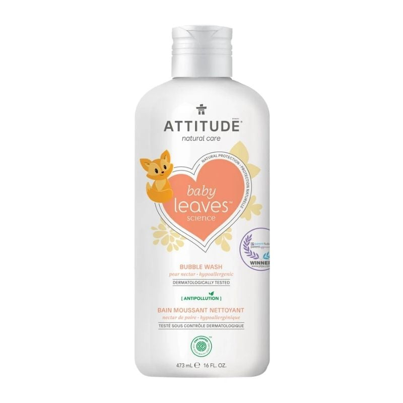 Attitude Natural Baby Bubble Bath Wash