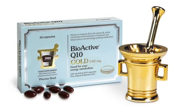 Pharma Nord BioActive Q10 Gold 100mg 1 Month Capsule 30's