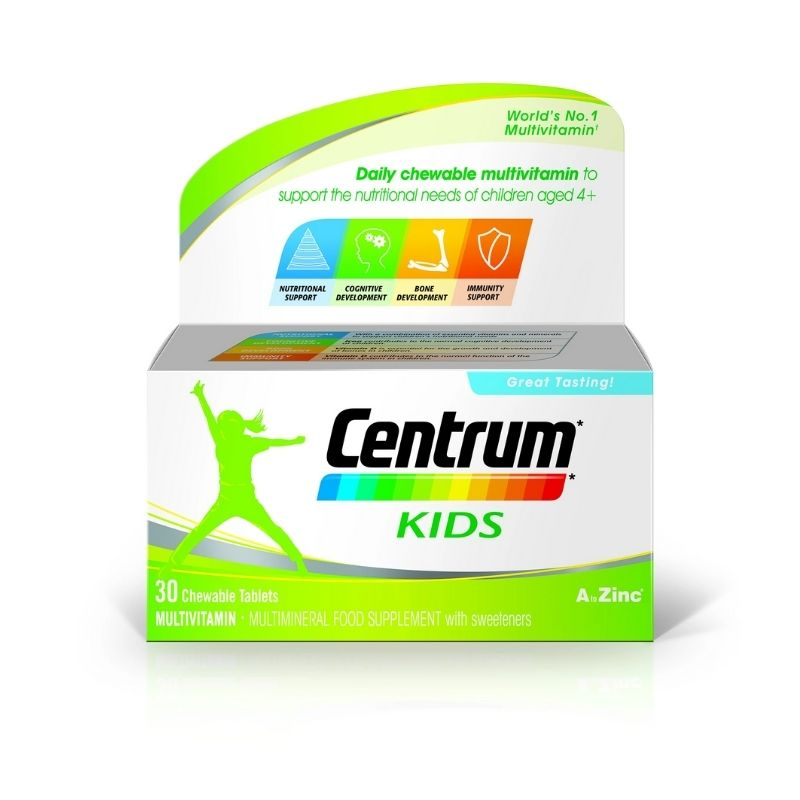 Centrum Kids 30 Chewable Tablets