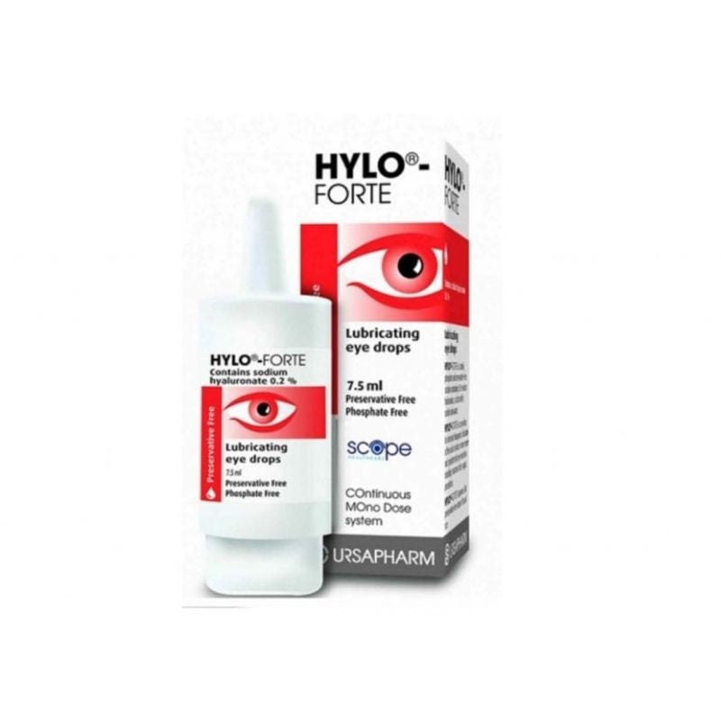Hylo-Forte Lubricating Eye Drops 7.5ml