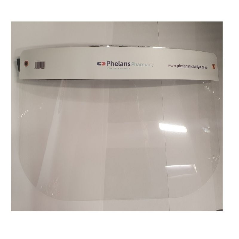 Reusable Phelans Pharmacy Face Visor