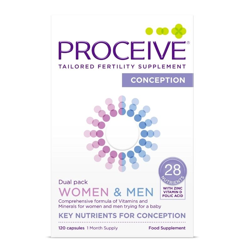 Proceive Conception Dual Pack 120 Capsules