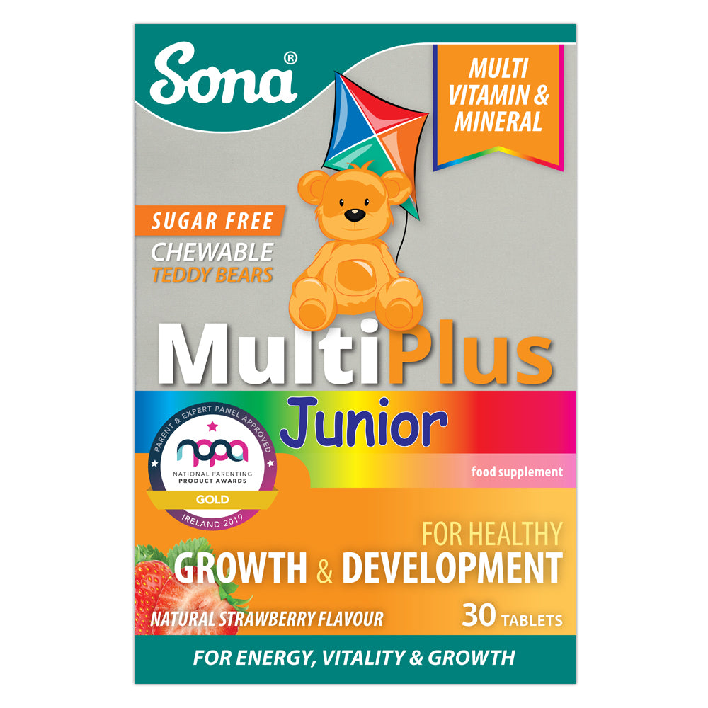 Sona MultiPlus Junior Chewable Sugar Free