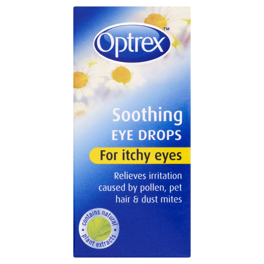 Optrex Soothing Eye Drops for Itchy Eyes 10ml