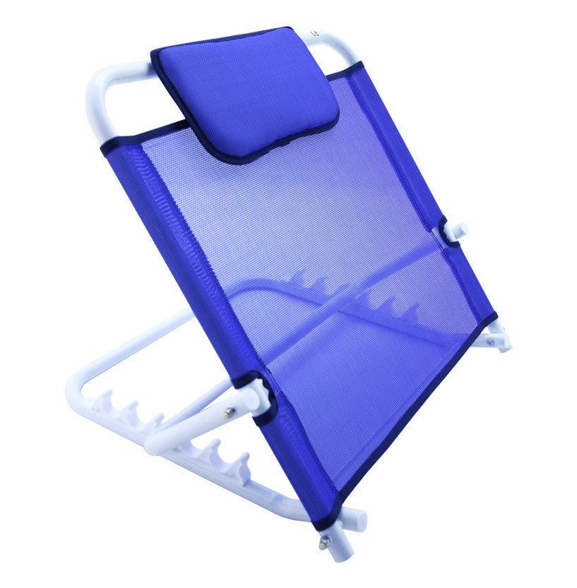 Folding bed backrest