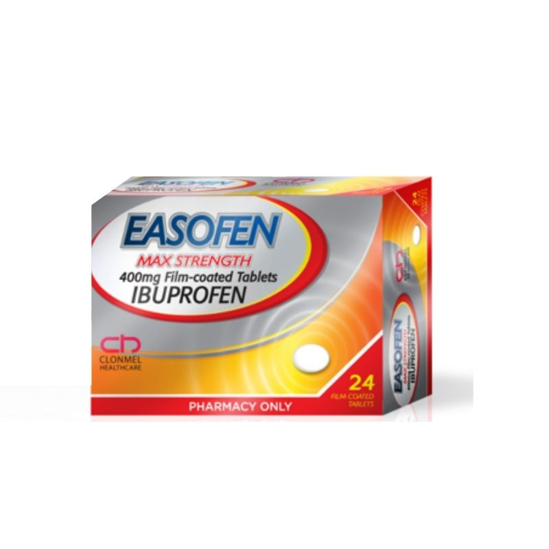 Easofen 400mg Ibuprofen Max Strength Tablets