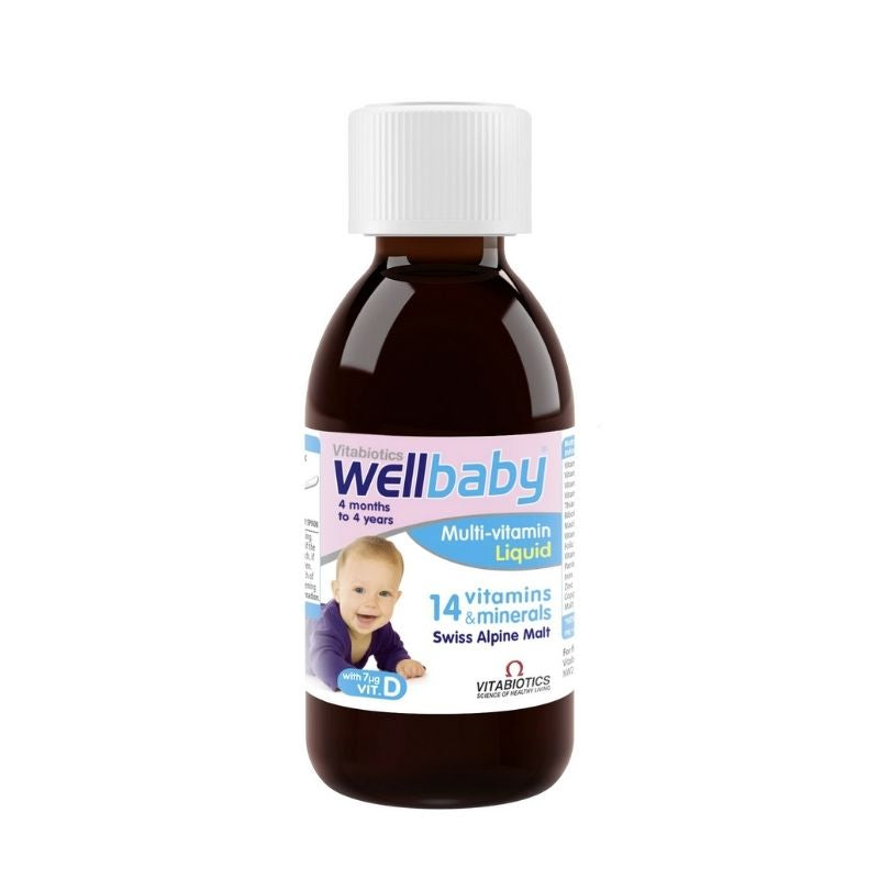 Vitabiotics Wellbaby Multi-Vitamin Infant Liquid