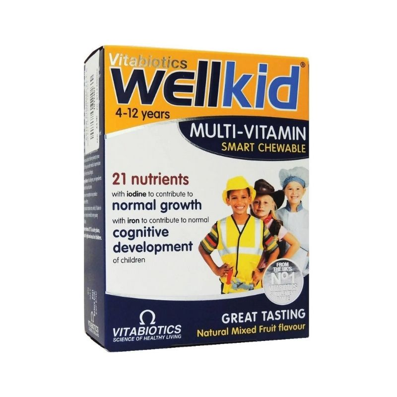 Vitabiotics WellKid Multi-Vitamin Smart Chewable Tablets